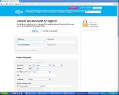 Skype Sign Up